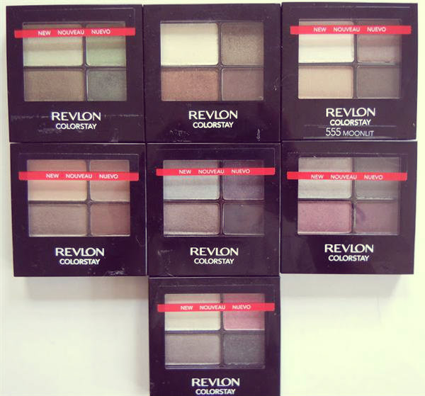 Revlon shadows- all