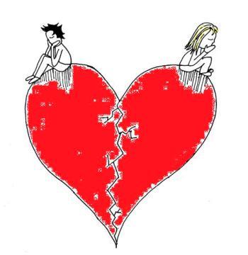 broken-heart sitting on