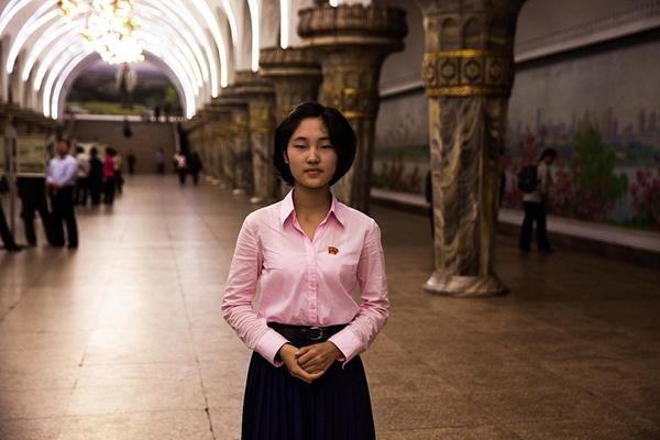 Subway-Station-Pyongyang
