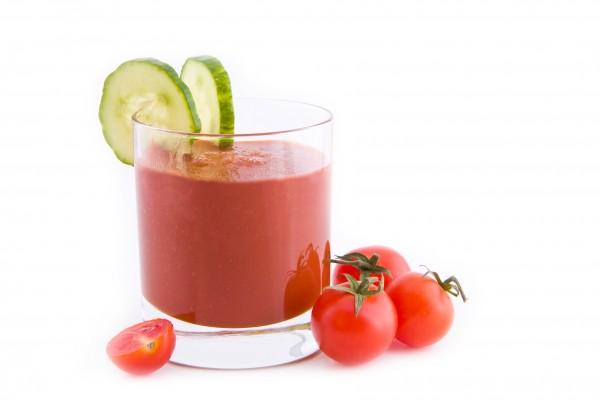 Tomato-Cucumber-Juice