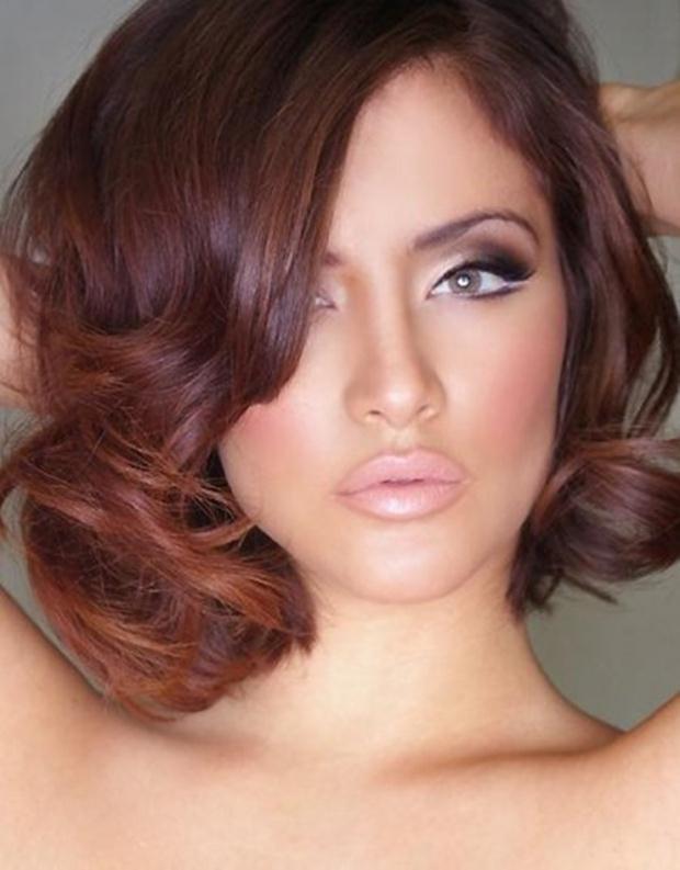 Smoky-Eye-Makeup-with-Nude-Lips