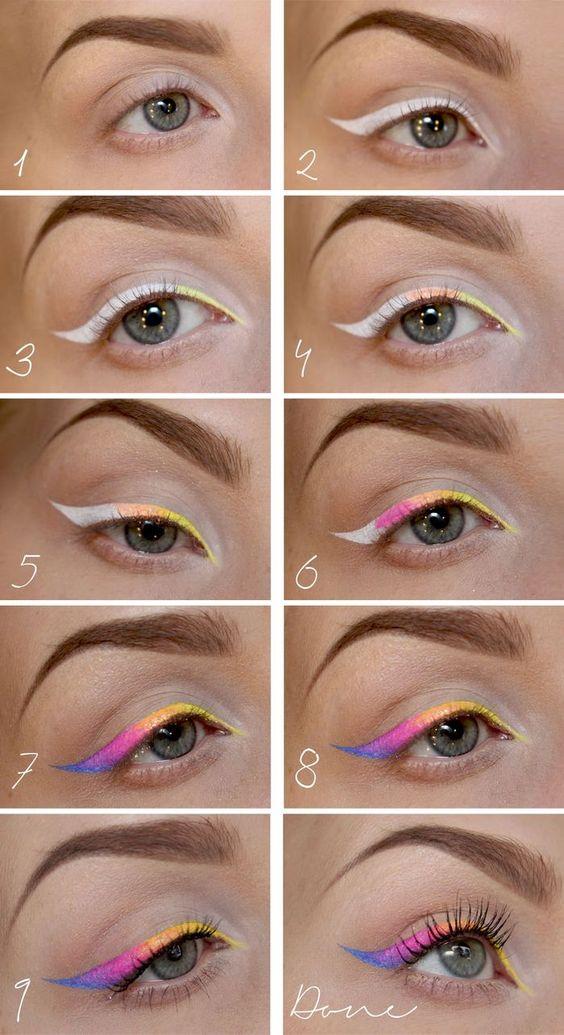 10-Pastel-Rainbow-Eyeliner-Flick