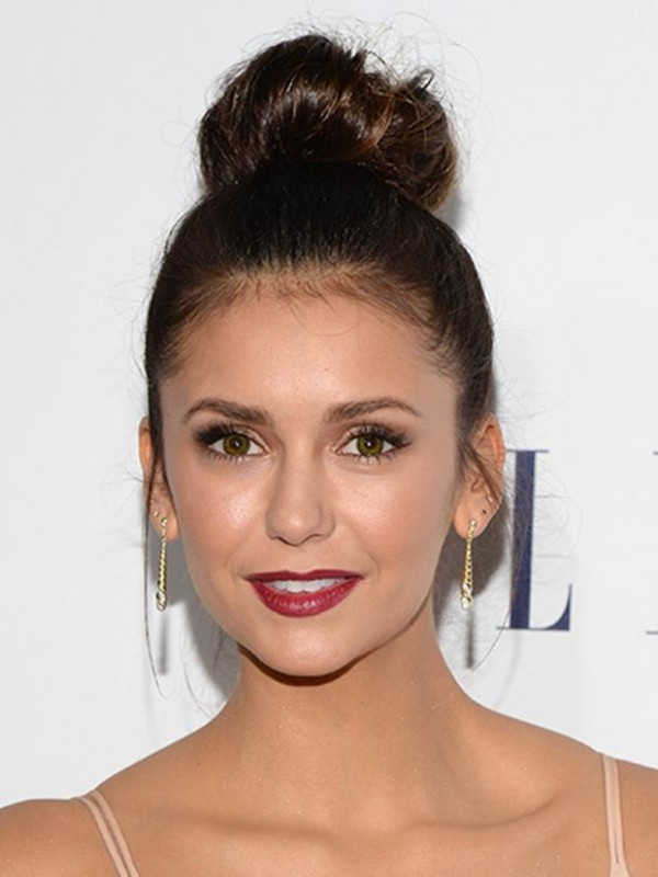 LOS ANGELES, CA - OCTOBER 19: Actress Nina Dobrev attends the 22nd Annual ELLE Women in Hollywood Awards at Four Seasons Hotel Los Angeles at Beverly Hills on October 19, 2015 in Los Angeles, California. (Photo by Michael Kovac/Getty Images for ELLE)