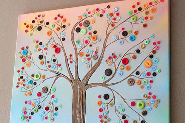 button-tree-art