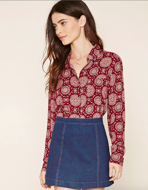 printed-collar-shirt-blouse-top-forever-21