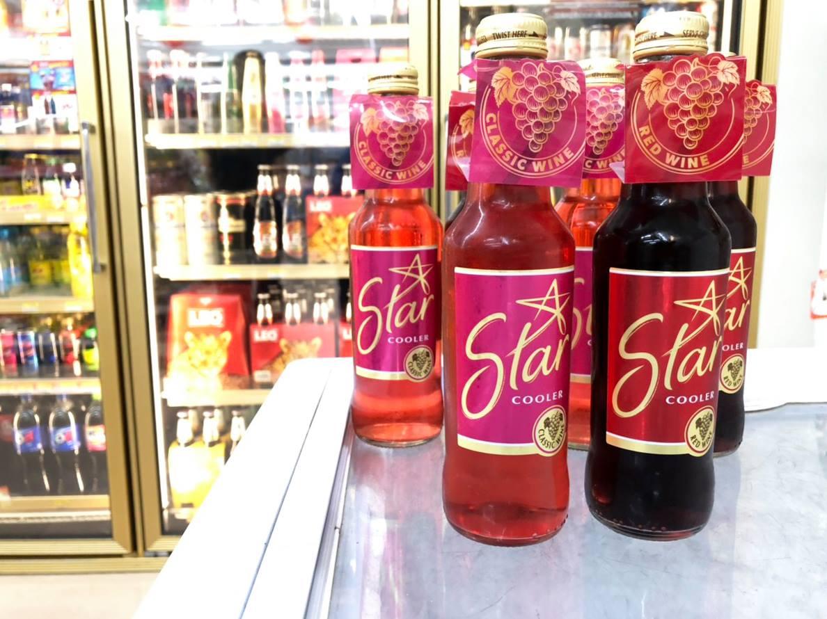 Star Cooler ไวน์คูลเลอร์สำหรับสาวสตรอง