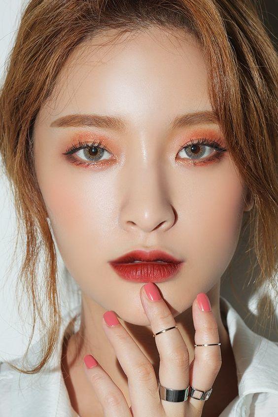 ไอเดียแต่งหน้าโทนพีชให้สวยปังแบบสาวเกาหลี